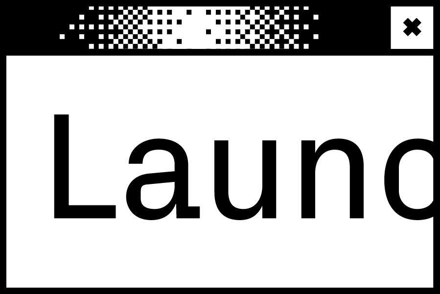 Bildschirmfenster mit dem Wort Lauch in der Mitte